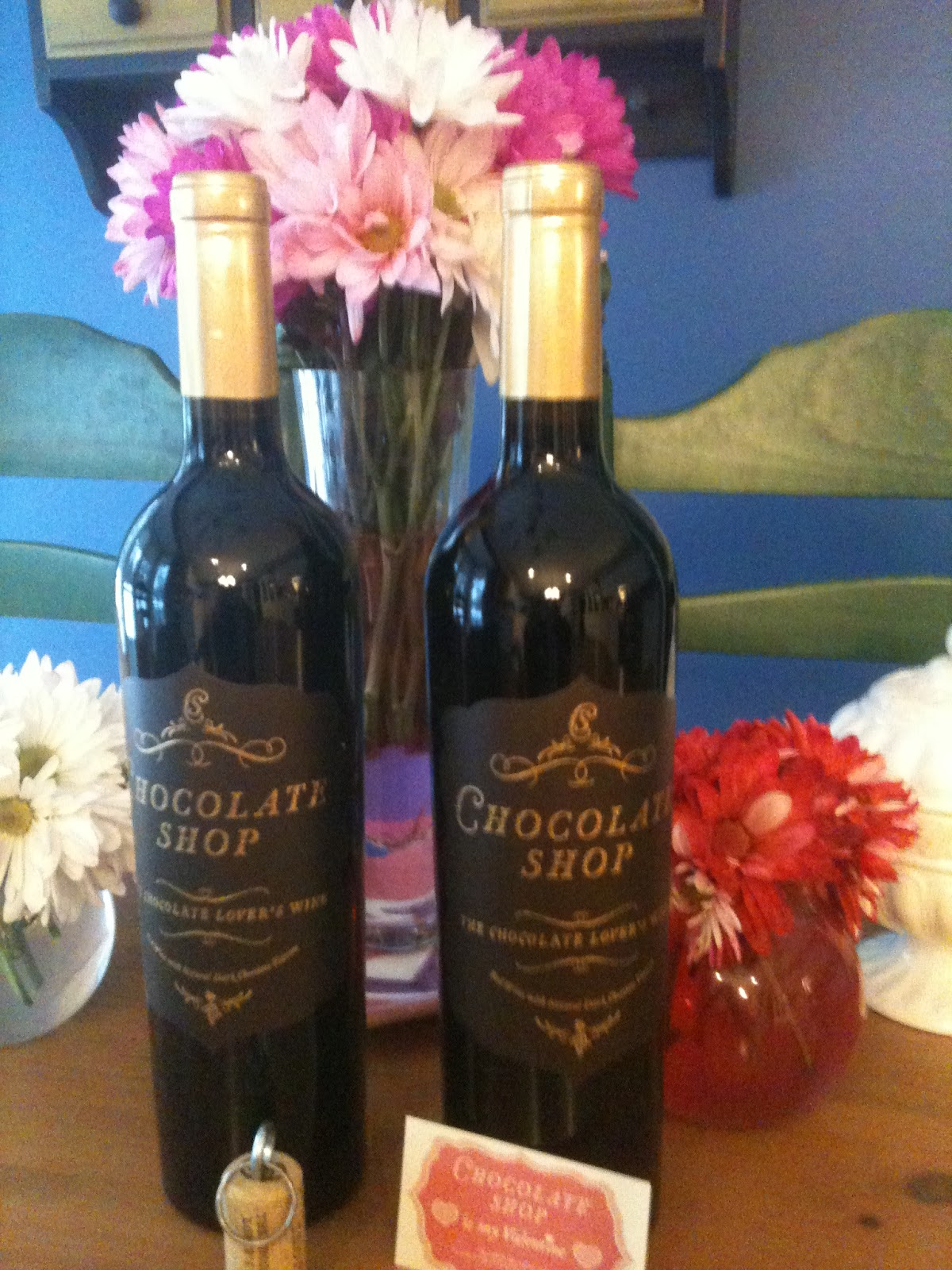 The Winey Mom: Winey Tasting Notes: Chocolate Shop Chocolate Red ...