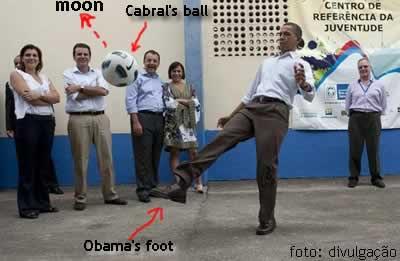 Obama visita Cidade de Deus