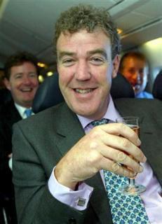Jeremy Clarkson con un drink