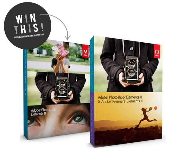 Win a Copy of Photoshop Elements 111