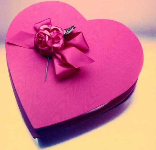 en güzel kalp kutular