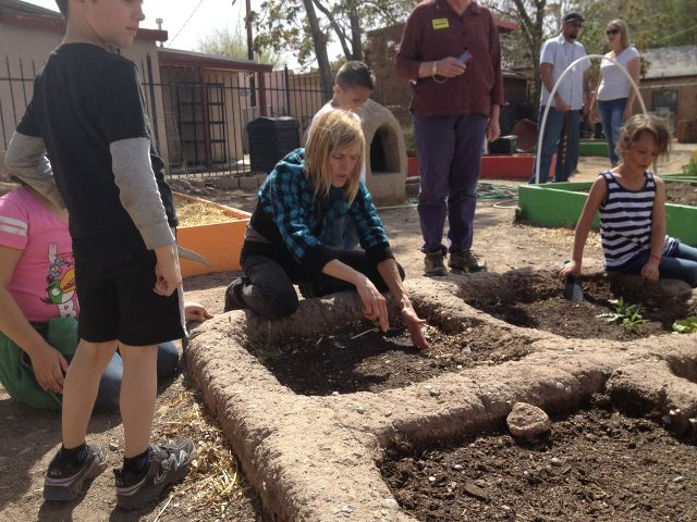 Bread New Mexico Blog Growing The Three Sisters In The Waffle Garden