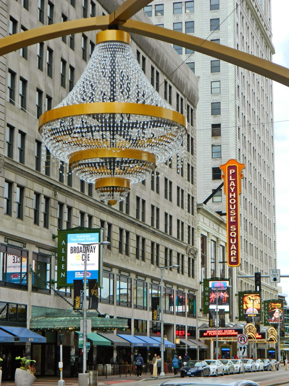 Playhouse Square Chandelier light ideas Light Ideas