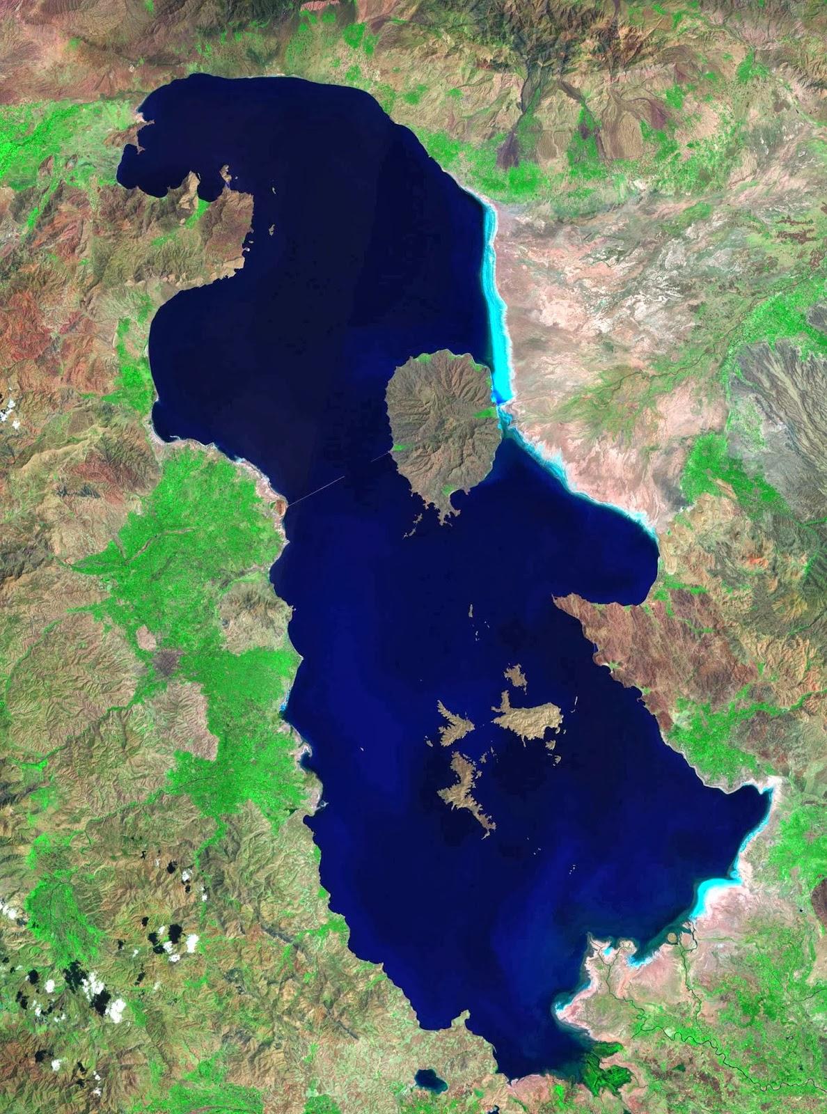 Lake Urmia, 1985.