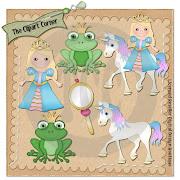 Sweet Princess Clip Art
