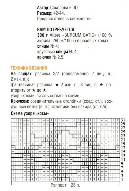 http://www.vyazemsami.ru// Кофта с открытыми плечами Описание