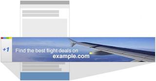 +1 ディスプレイ広告 モバイル表示例