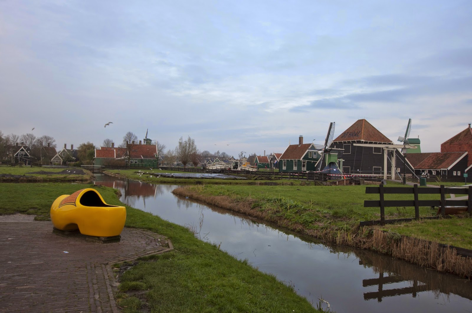 荷蘭 ... 風車村