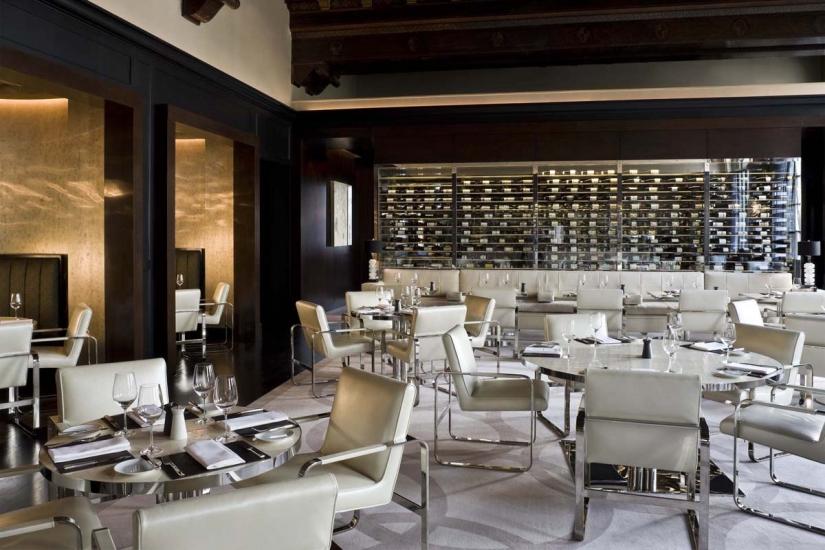 Restaurant interior design adour alain ducasse dc