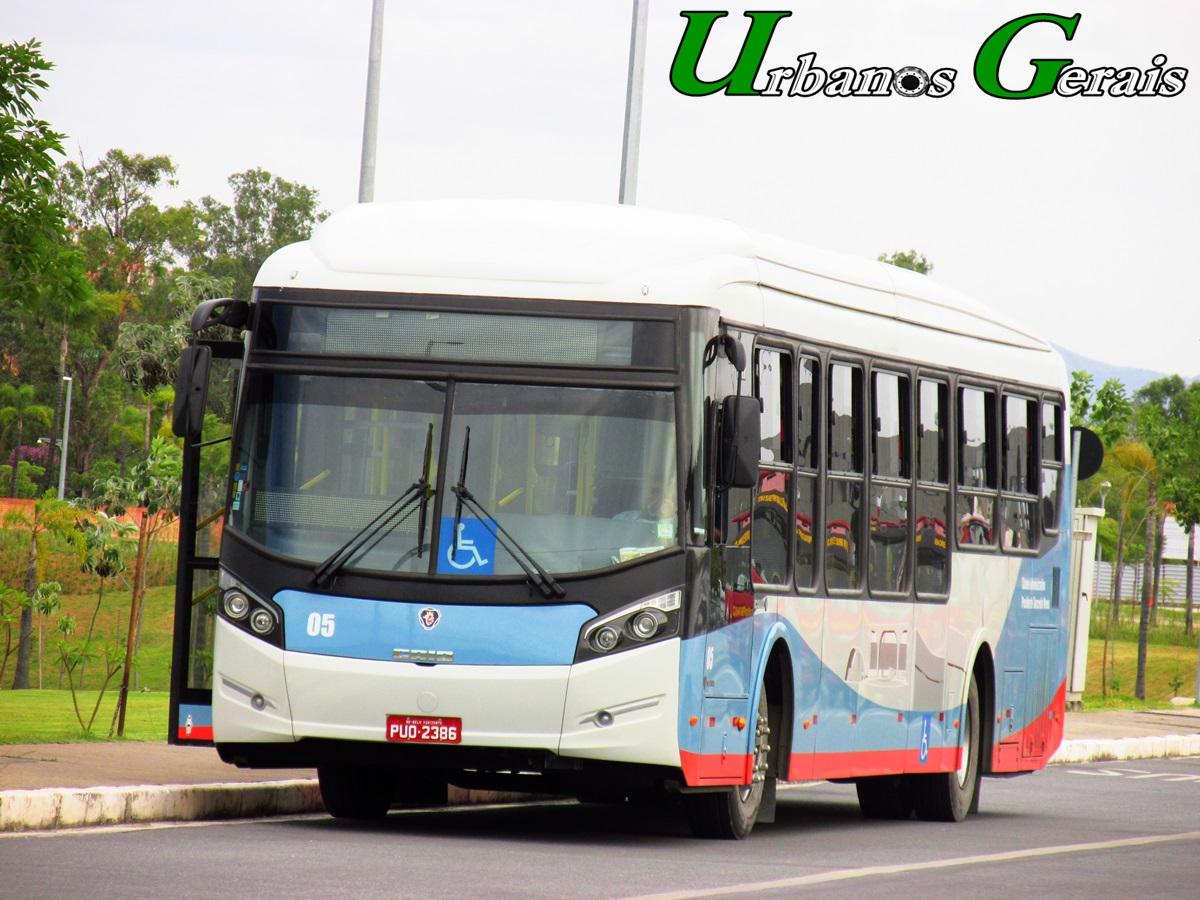 Caio Millennium BRT Piso Baixo