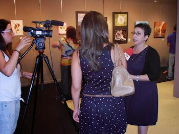 Entrevista de RubíTV  antes de la Exposición Nuevas Sensaciones