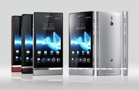 Sony Xperia P Android 4.0