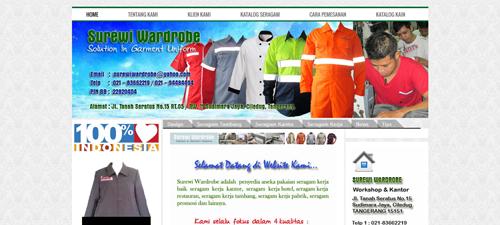 Surewi-seragam.com Toko Pakaian Kerja Terpercaya