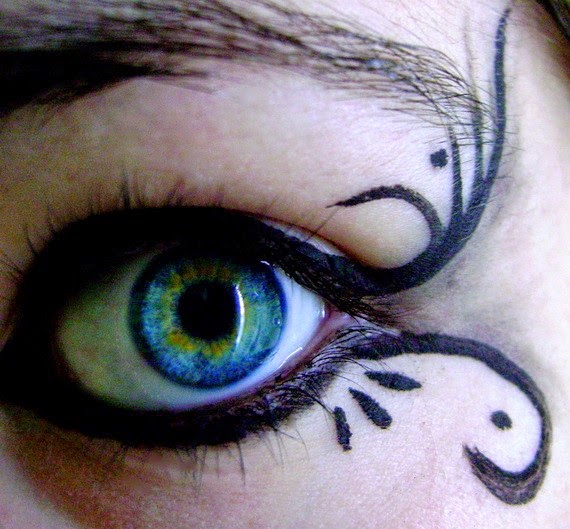 homemade halloween face makeup ideas