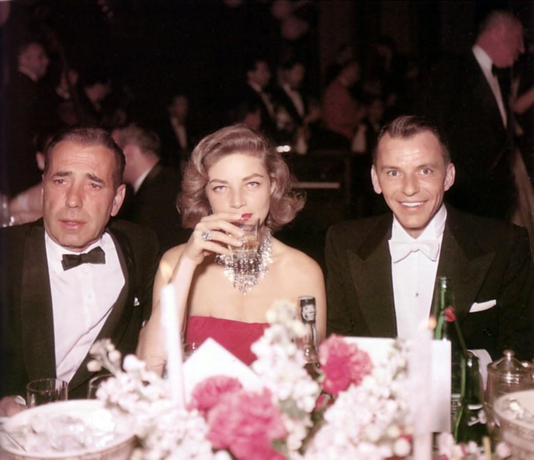 Bogart, Bacall y Sinatra.