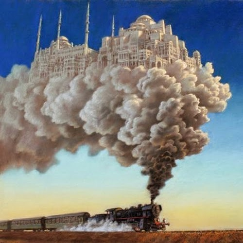 03-Orient-Express-Marcin-Kołpanowicz-Painting-Architecture-in-Surreal-Worlds-www-designstack-co