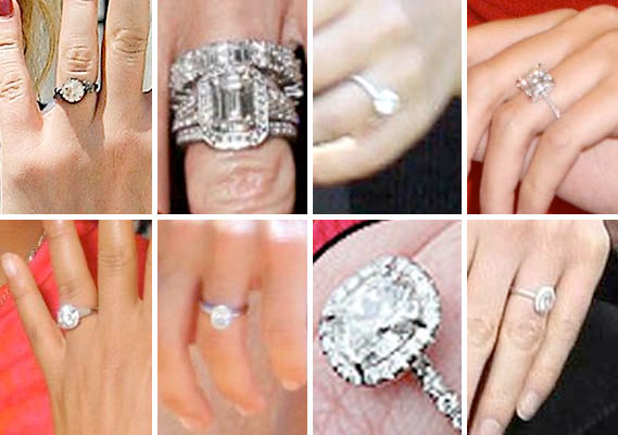 Diamond Engagement Rings Top Five Celebrity Engagement Rings