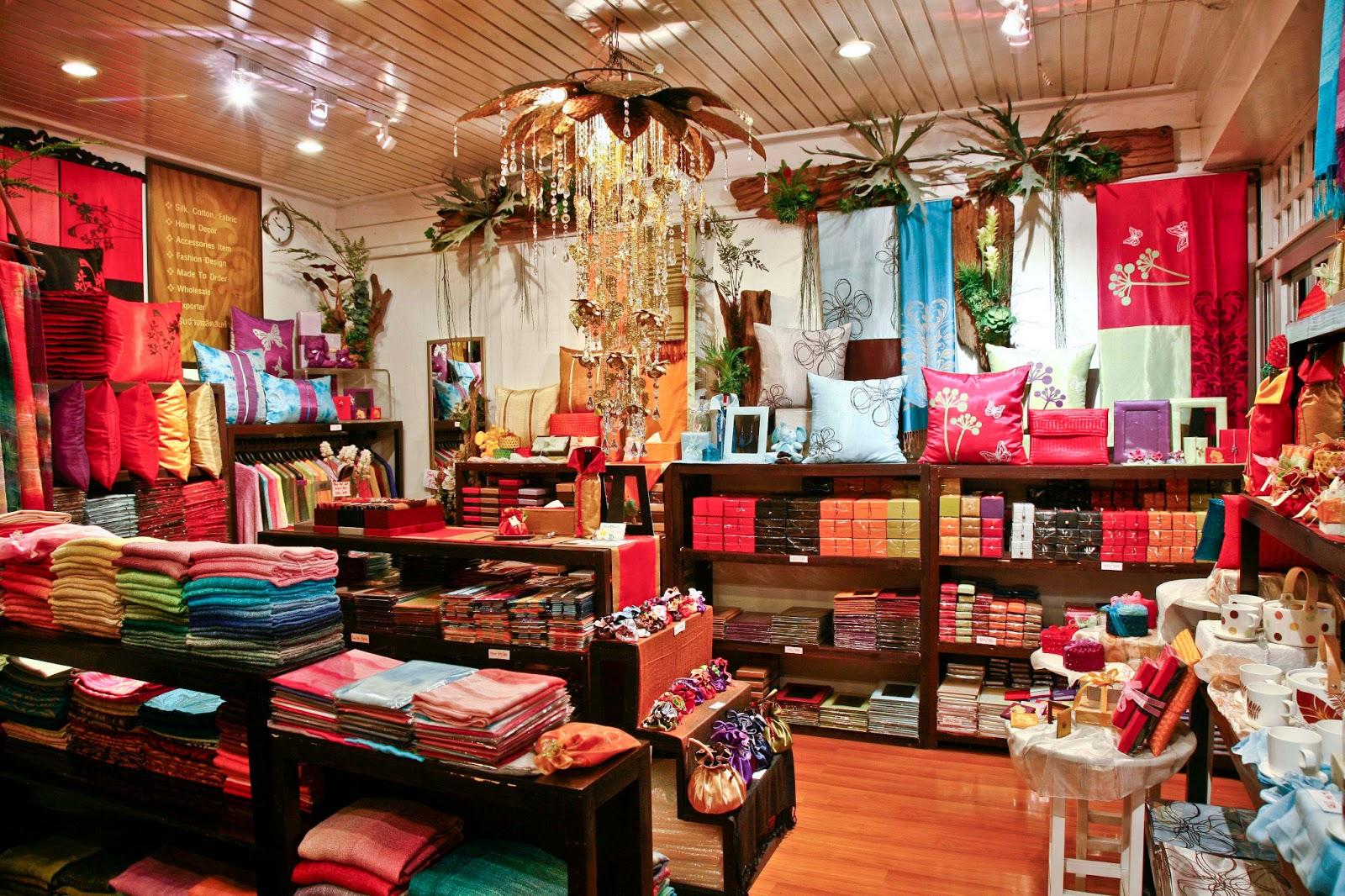 Thai Silk And Home Decoration
