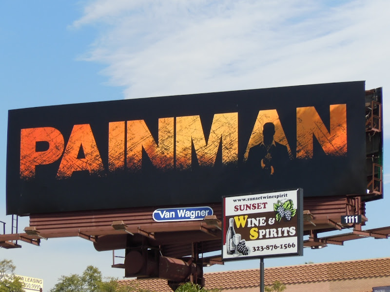 Painman comic billboard