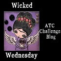 Jeg deltager i Wicked Wednesday ATC Challenge