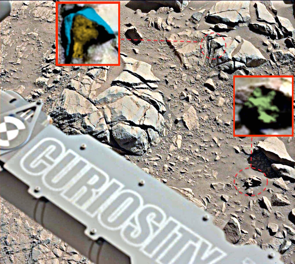 UFO SIGHTINGS DAILY: NASA Rover Photo Contradicts Itself ...