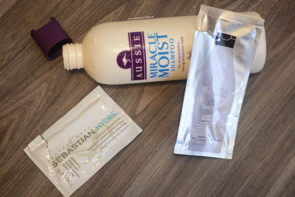 Aufgebrauchte Haarpflege-Produkte