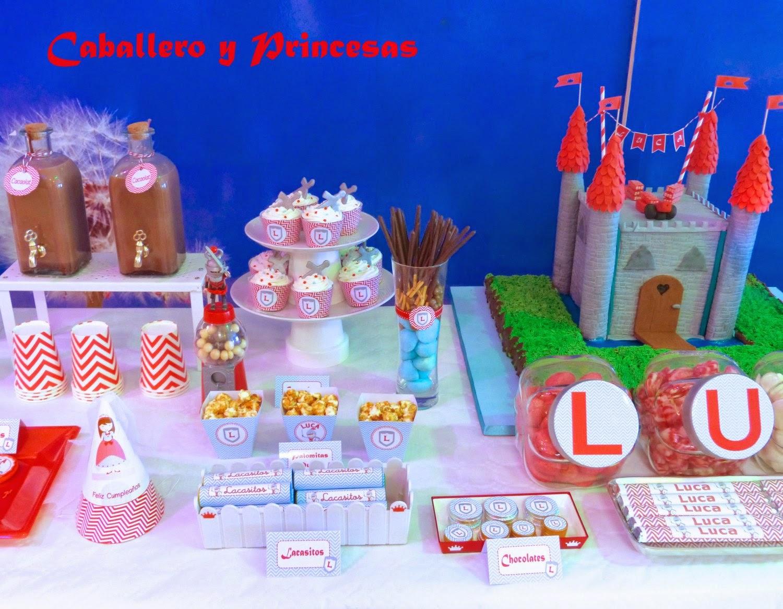 candy bar cumpleaños niño