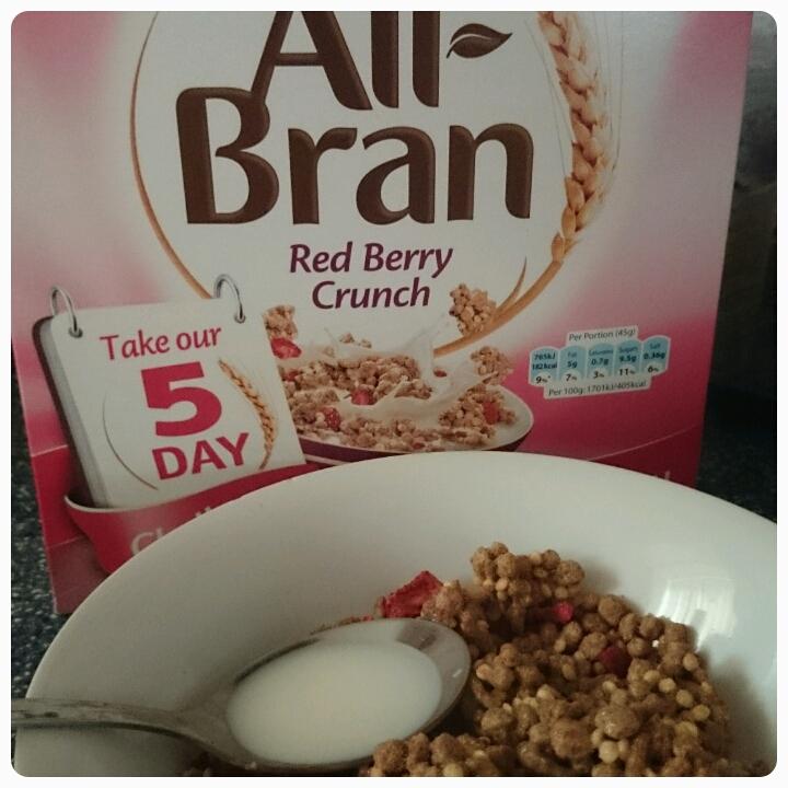 all bran red berry crunch