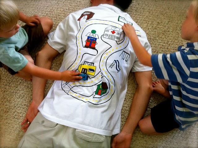 aprenda a fazer uma camiseta  para o dia dos pais