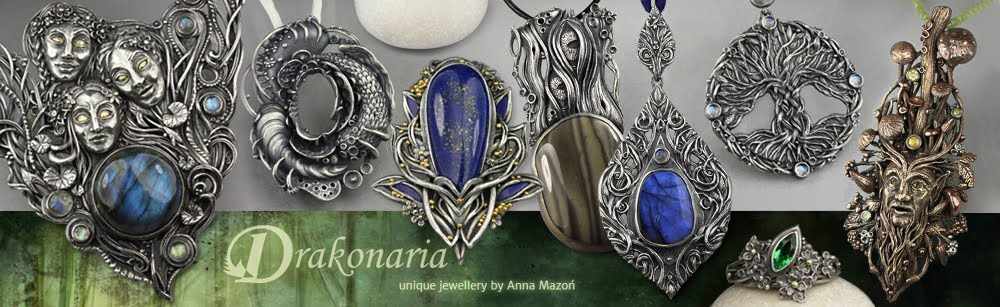 Unique jewellery by Anna Mazoń