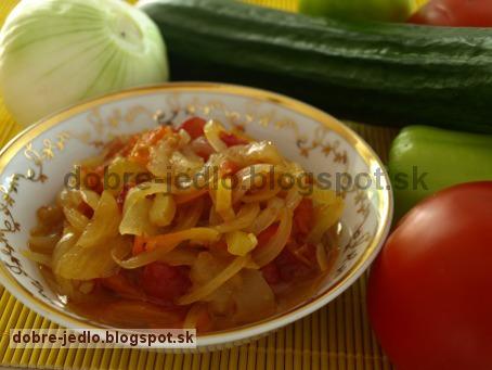 Bulharský šalát - recepty