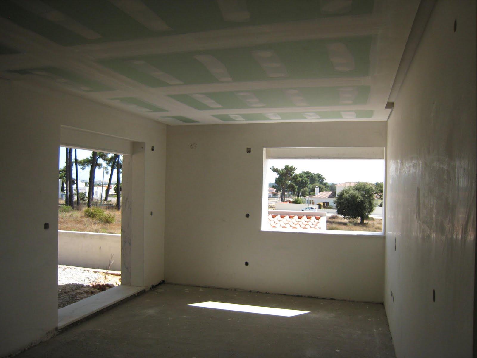 A nossa alegre casinha teto falso - Casas de pladur ...