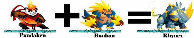 como obtener el monstruo rhynex en monster legends formula 3