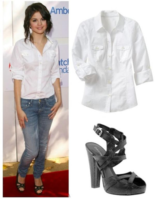 selena gomez fashion clothing