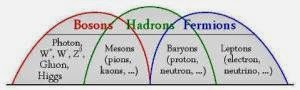 Fermions,Hadrons and Bosons