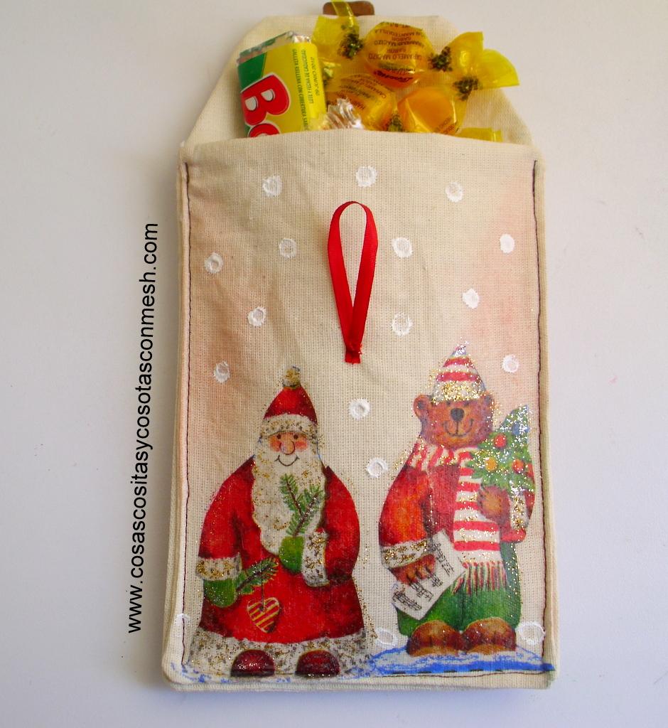Dulceros navideños manualidades : cositasconmesh