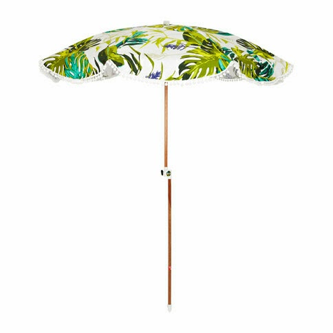 Bellame Jet Set Tropical Beach Umbrella