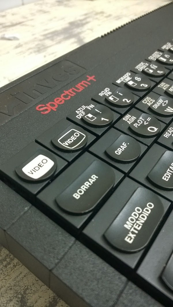 Mejorar la señal de video de un Spectrum + de Inves