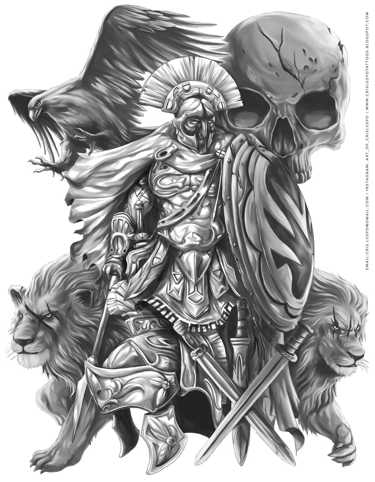 warrior archangel michael tattoo google search tattoos pinterest archangel michael. Black Bedroom Furniture Sets. Home Design Ideas