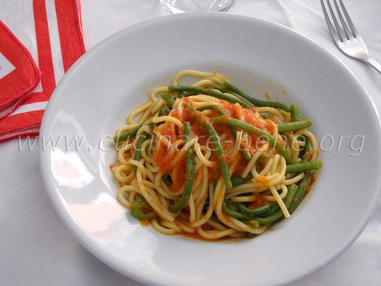 Pasta con fagiolini cucinare bene ricette for Cucinare fagiolini