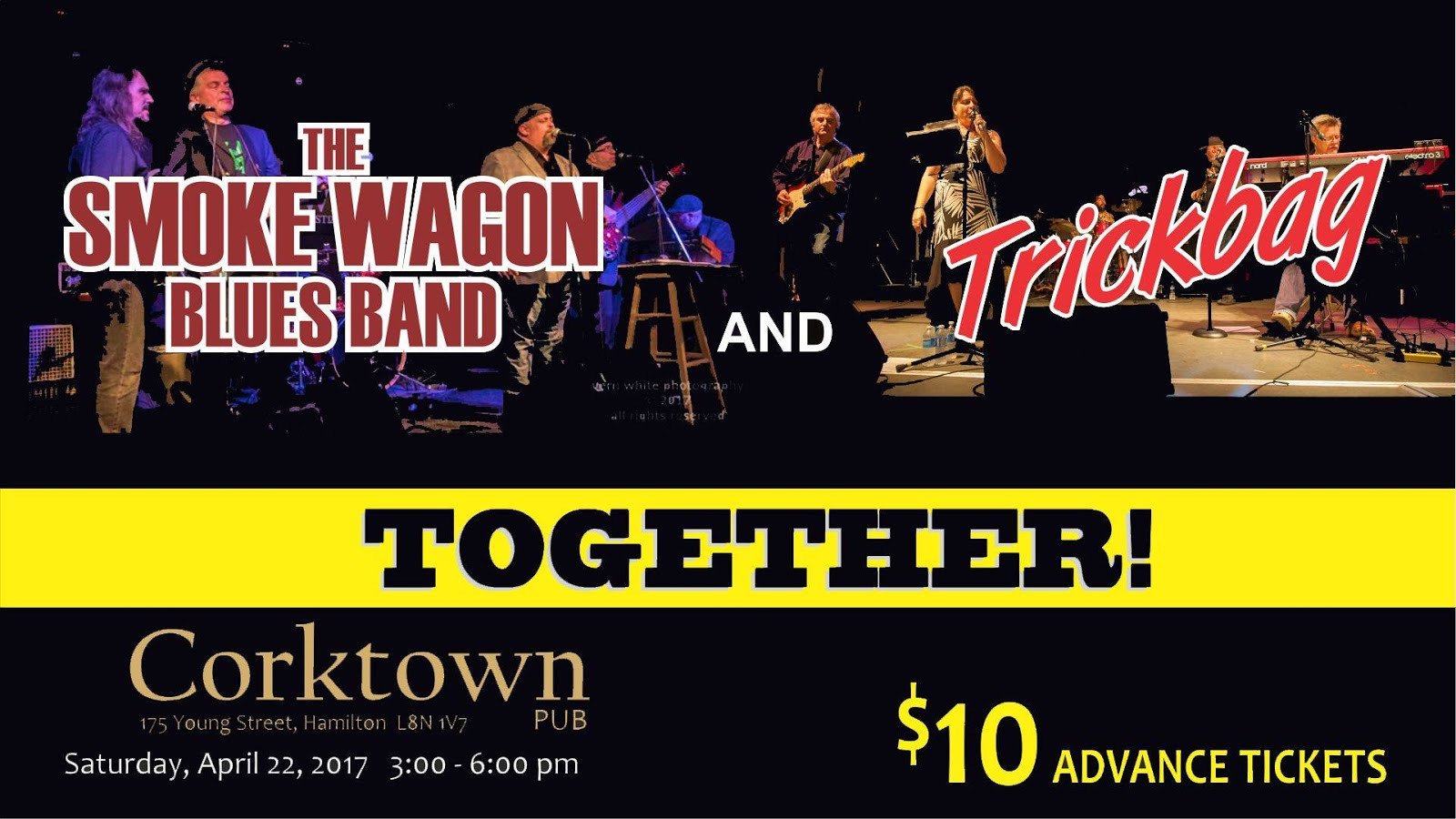Trickbag & the Smoke Wagon Blues Band @ Corktown