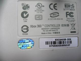 Tips Cara membedakan Stick Xbox 360 Original dengan Stick KW Xbox 360