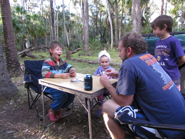 Campsite friendships at Carnarvon Gorge