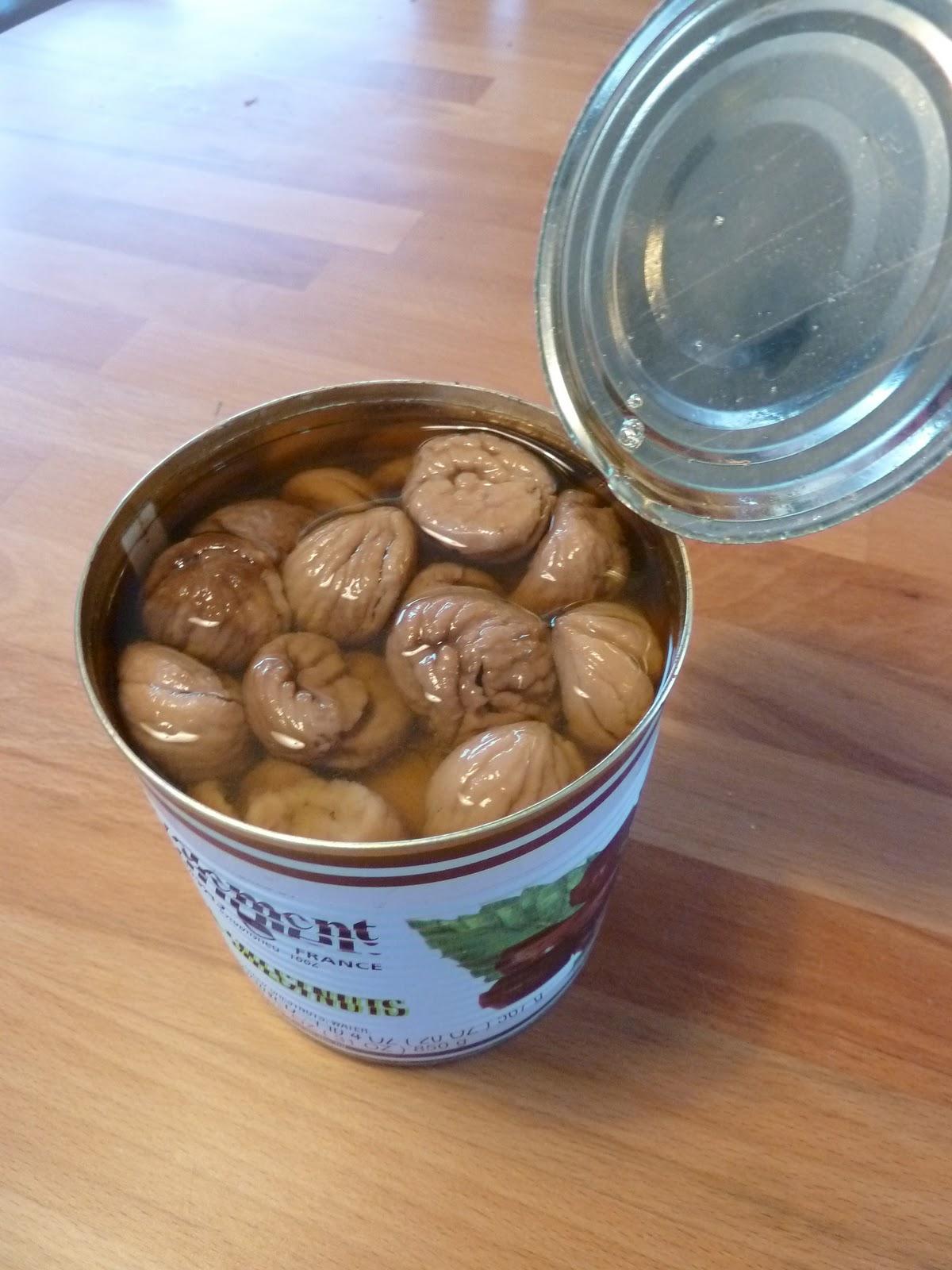 Camille vanille fondant aux marrons - Cuire des marrons en conserve ...