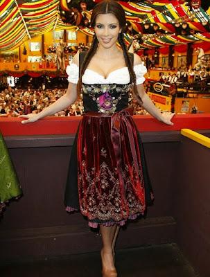 Buxom Beer Wench Kim Kardashian Costume