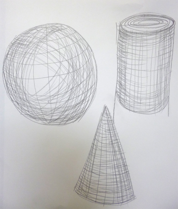 Drawing Using Lines Only : Magsramsay develop your drawing metamorphosis