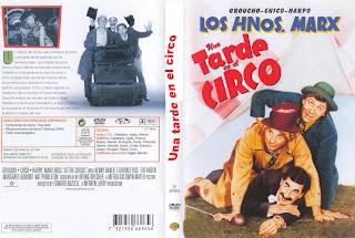 Carátula dvd: Una tarde en el circo (Los Hermanos Marx)