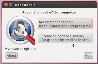 Kako obnoviti Ubuntu nakon instaliranja Windowsa