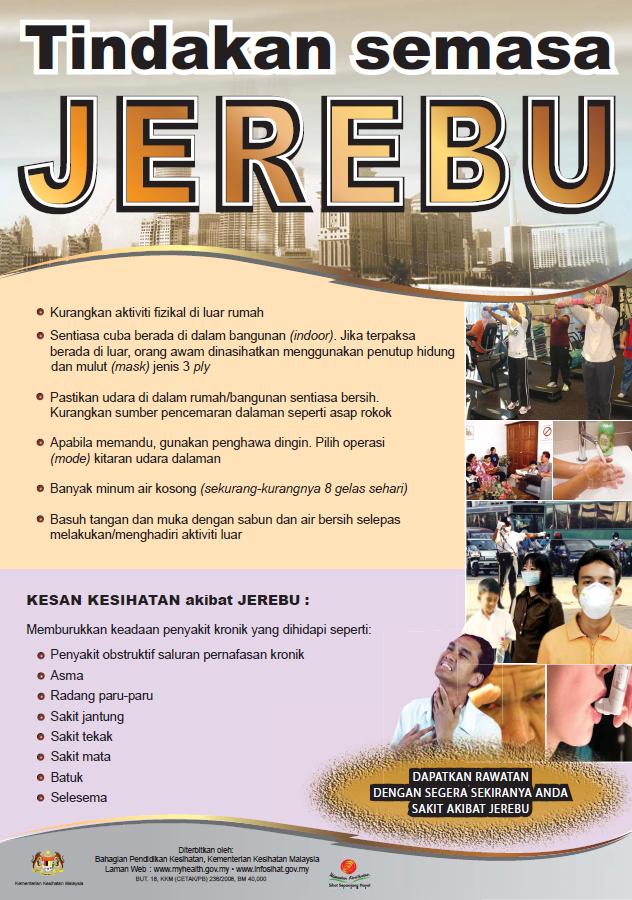 Tindakan semasa Jerebu