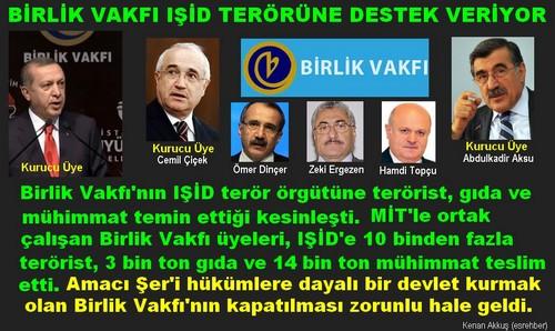 BİRLİK VAKFI'NIN PKK'DAN FARKI YOK